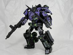 Transformers Custom Shattered Glass Optimus Prime