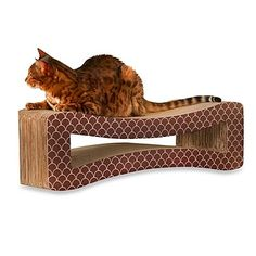 Enchanted Home Pet Therapeutic Cat Scratcher with Natural Paperboard Made From Non-Toxic, Recyclable Materials >>> Read more reviews of the product by visiting the link on the image. (This is an affiliate link and I receive a commission for the sales)