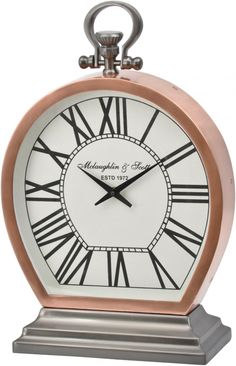 Beautifully-proportioned and delicately-detailed, the Charleston copper mantlepiece clock is the ideal piece for that subtle addition of superb style. Modern Sculpture, Bronze Sculpture, Small Clock, World Of Interiors, Modern Wall Decor, Interior Design Inspiration, Classic Style, Retro Style, Charleston