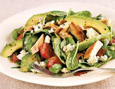 Turkey-Avocado Cobb Salad Recipe