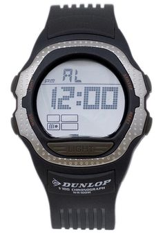 Price:$26.91 #watches Dunlop DUN-35-G06, This Dunlop timepiece is designed for the sporty Men. It's size, ruggedness and multiple functions make it a great value. Digital Watch, Chronograph, Sporty, Watches, Men, Accessories, Design, Wristwatches