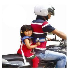 kids children's black motorcycle-safety-belt electric vehicle safe strap carrier #unbranded #safetystrap