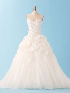 Alfred Angelo Disney Fairy Tale Wedding Gowns - Sleeping Beauty same with this one- not so poofy