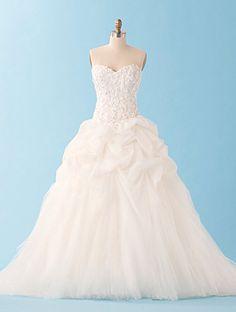 Sleeping Beauty wedding gown Alfred Angelo
