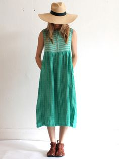 Ace & Jig Cliff Dress - Tile with Holland Stripe