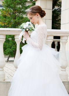 ERマヴィア | LOOKBOOK | LAVIEEN ROSE Wedding Girl, Wedding Hairstyles, Wedding Dresses, Rose, Womens Fashion, Weddings, Bride Dresses, Bridal Gowns, Pink