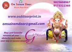 Om Sairam Door are betrothed in trading and supplying qualitative array of Digital Door Paper Print, Flush Door Design Paper Print, Door Paper Print, Decorative Sunmica Paper Print, Membrane Digital Door Print, 3D Effect Door Paper Print, Door Printed Paper. Ganesh Chaturthi Messages, Happy Ganesh Chaturthi Images, Flush Door Design, Flush Doors, Lord Ganesha, Paper Decorations, Whatsapp Dp, Make It Yourself, Christmas Ornaments