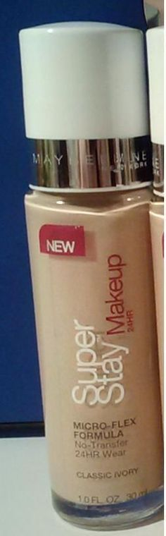 Maybelline Super Stay Foundation Makeup Long Wear Color Classic Ivory #Maybelline Free Shipping Brand New NOT EXPIRED!!!!!