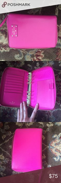 Kate spade Wellesley place planner / travel wallet EUC absolutely love it just got a new color! kate spade Bags Wallets