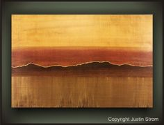 TUSCAN SUNOriginal Abstract Painting by Justin by PaintAddict