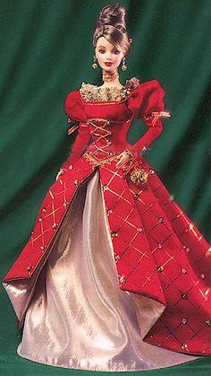 1999  Holiday Treasures #1 Barbie  Collector Club Exclusives