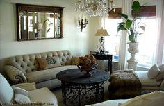 Living Room ahouseromance.blogspot.com