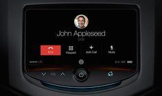 Phonecall Through Apple CarPlay Screen