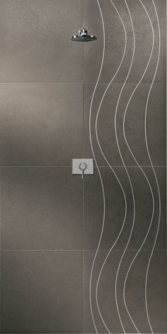 Flair.7 collection: Intense.2 & Intense.2 Steel #tiles #living #ceramichecaesar #Bathroom