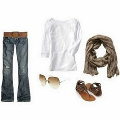 I love this; again source didn't have original link but I had to post this; I do know the jeans are Hollister and the belt is Bedstu Steinway from Zappos. Mama Jama....if you are out there, do your magic if you can:)