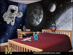 space and astronomy wall murals-Earth Galaxy Wall Mural