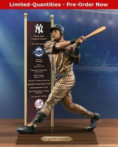 Derek Jeter, New York Yankees, New Jersey, All Star, Baseball Cards, Sports, Hs Sports, Excercise, Sport