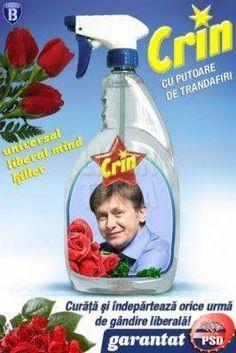 Crin the smelly flower Antonescu...