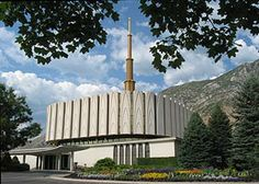 Provo Utah Temple - I first attended this temple as a newly set apart missionary.  My wife and I lived in this temple district for about a year.  My sister in law was just married there a week ago.