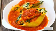 Cheese Stuffed Shells, Spinach And Cheese, Thai Red Curry, Vegetarian, Drinks, Ethnic Recipes, Food, Drinking, Beverages