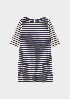 STRIPE TUNIC DRESS | TOAST