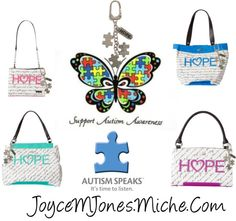 """""""Miche Hope for Autism"""" by joyce-jones on Polyvore"""