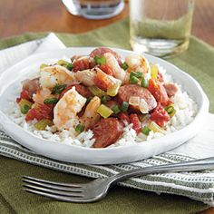 Sausage Jambalaya + 105 More Healthy Slow Cooker Recipes ~ Love me some Cajun cookin'! Healthy Slow Cooker, Slow Cooker Recipes, Crockpot Recipes, Cooking Recipes, Sausage Recipes, Cooking Tips, Sausage Jambalaya, Jambalaya Recipe, Shrimp Jambalaya