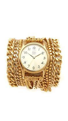 Sara Designs All Chain Wrap Watch  SHOPBOP