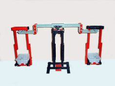 How to build a balance with Lego, for weighing things.Part needed:Some basic Technic piecesA few other basic Lego pieces(optional) plastic containers