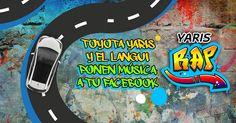 Con Yaris, ahora puedes tener el rap de tu Facebook cantado por El Langui con el que conocerás quién es el mejor copiloto de tu muro o qué publicación revolucionó tu tablón. #YarisRap