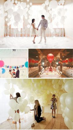 I'm not too into balloons but done right... they can work ~photography backdrops (thinking Prom,theme shoots)