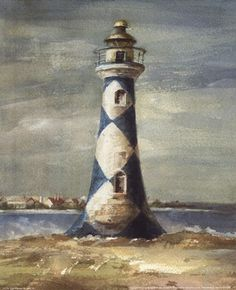 Lighthouse IV Fine-Art Print by Danhui Nai at FulcrumGallery.com