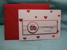Stampin' Up! Hostess Stamp set 2016. Love You Lots