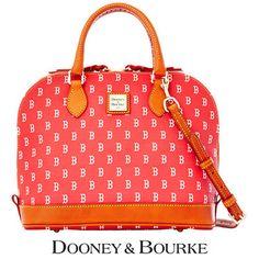 Dooney & Bourke Boston Red Sox Women's Signature Zip Zip Satchel