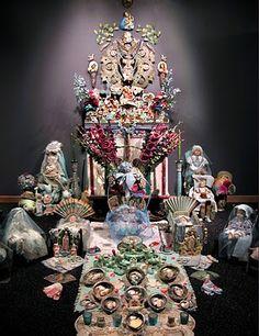 Altars:  Forget-Me-Not #Altar.