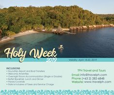 DAVAO HOLY WEEK 2019 Minimum of 2 persons For more inquiries please call: Landl. Philippine Holidays, Davao, Holy Week, Travel Tours, Travel Agency, Day Tours, Manila, Philippines, Boat