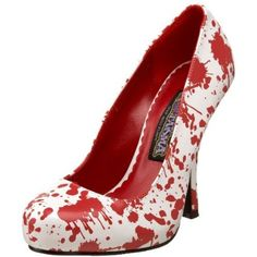 Funtasma by Pleaser Women's Bloody-12 Pump - designer shoes, handbags, jewelry, watches, and fashion accessories   endless.com