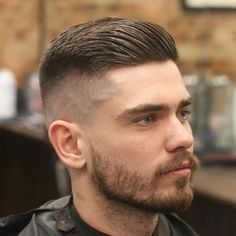25 Modern Hairstyles For Men Update) : High Bald Fade + Thick Side Swept Hair + Beard Mens Modern Hairstyles, Modern Haircuts, Haircuts For Men, Barber Haircuts, Japanese Hairstyles, Korean Hairstyles, American Hairstyles, Mens Hairstyles 2018, Short Haircuts