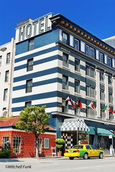 Hotel The Tenderloin District, San Francisco By Mitchell Funk  www.mitchellfunk.com