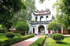 Temple de litterature a Hanoi, Vietnam