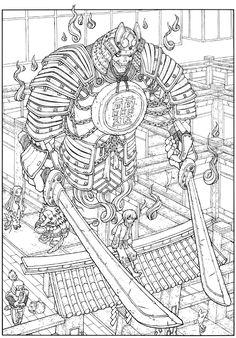 Incantation samurai