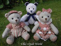 Ulla paplan World: Teddy Bear paplan és a minta