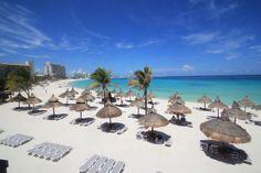 Beautiful Club Med Cancun, Mexico beach.
