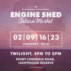 this time next week I'll be preparing for the @engine_shed_market where I'll be selling prints artwork and handmade cards. Be sure to come and check it out! #bellarine #bellarinepeninsula #event #market #pointlonsdale #sale #typography #art #design #graphicdesign #engineshedmarket by demiandoco http://ift.tt/1JO3Y6G
