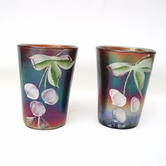 Hey, I found this really awesome Etsy listing at https://www.etsy.com/listing/124995446/antique-fenton-glasses-carnival-glass