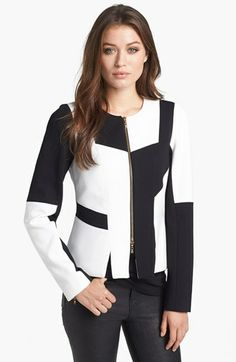 Rachel Roy Colorblock Jacket available at #Nordstrom