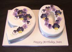 Pansy 90th Birthday cake by Alixs Cakes, via Flickr
