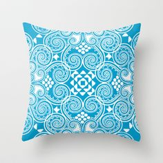 Decographic Throw Pillow by Budi Satria Kwan - $20.00