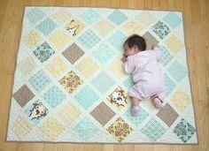 Moda Bake Shop Baby Lattice Quilt