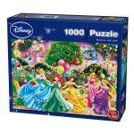 Puzzle 1000 pièces : Feu d'artifice chez Disney